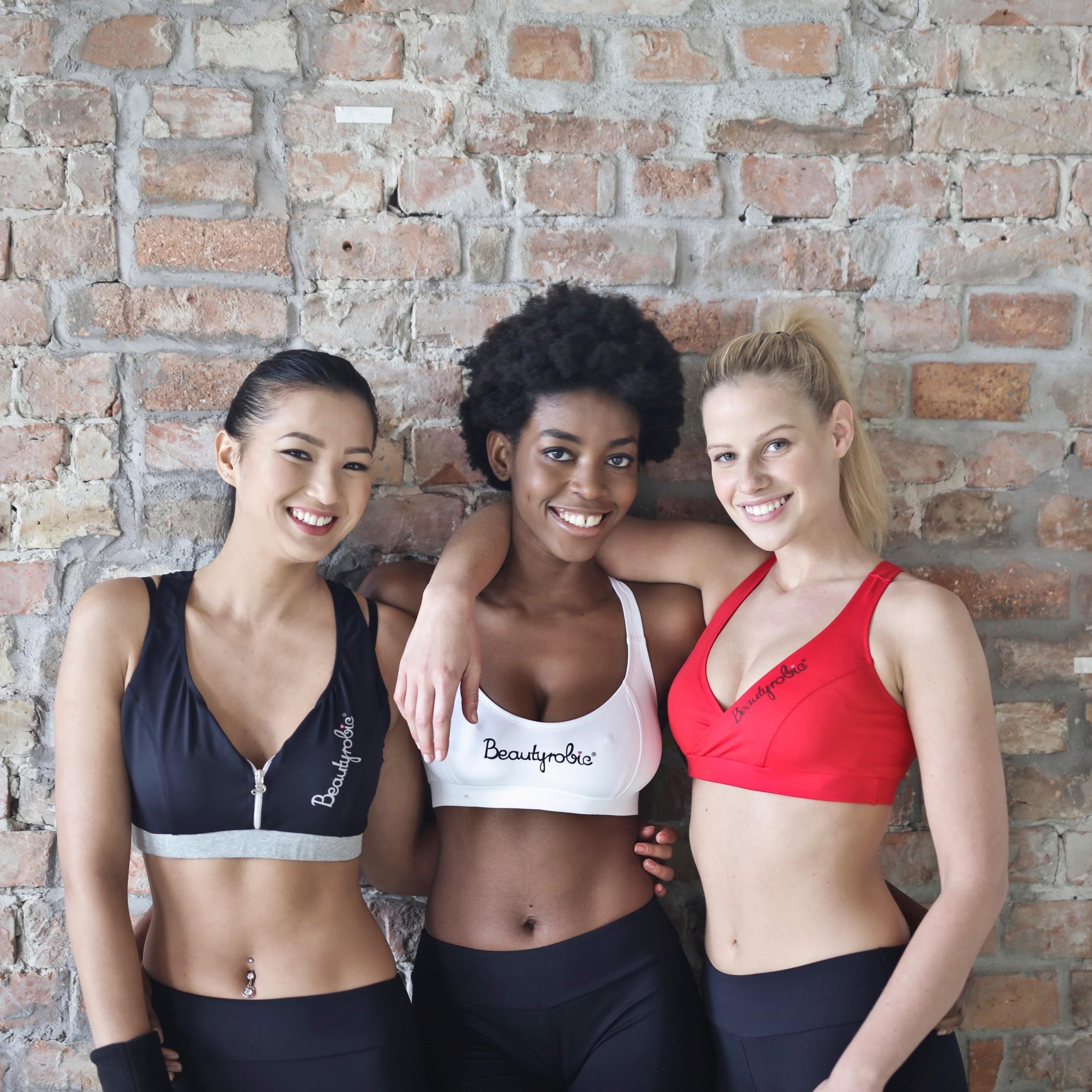 The women in active wear