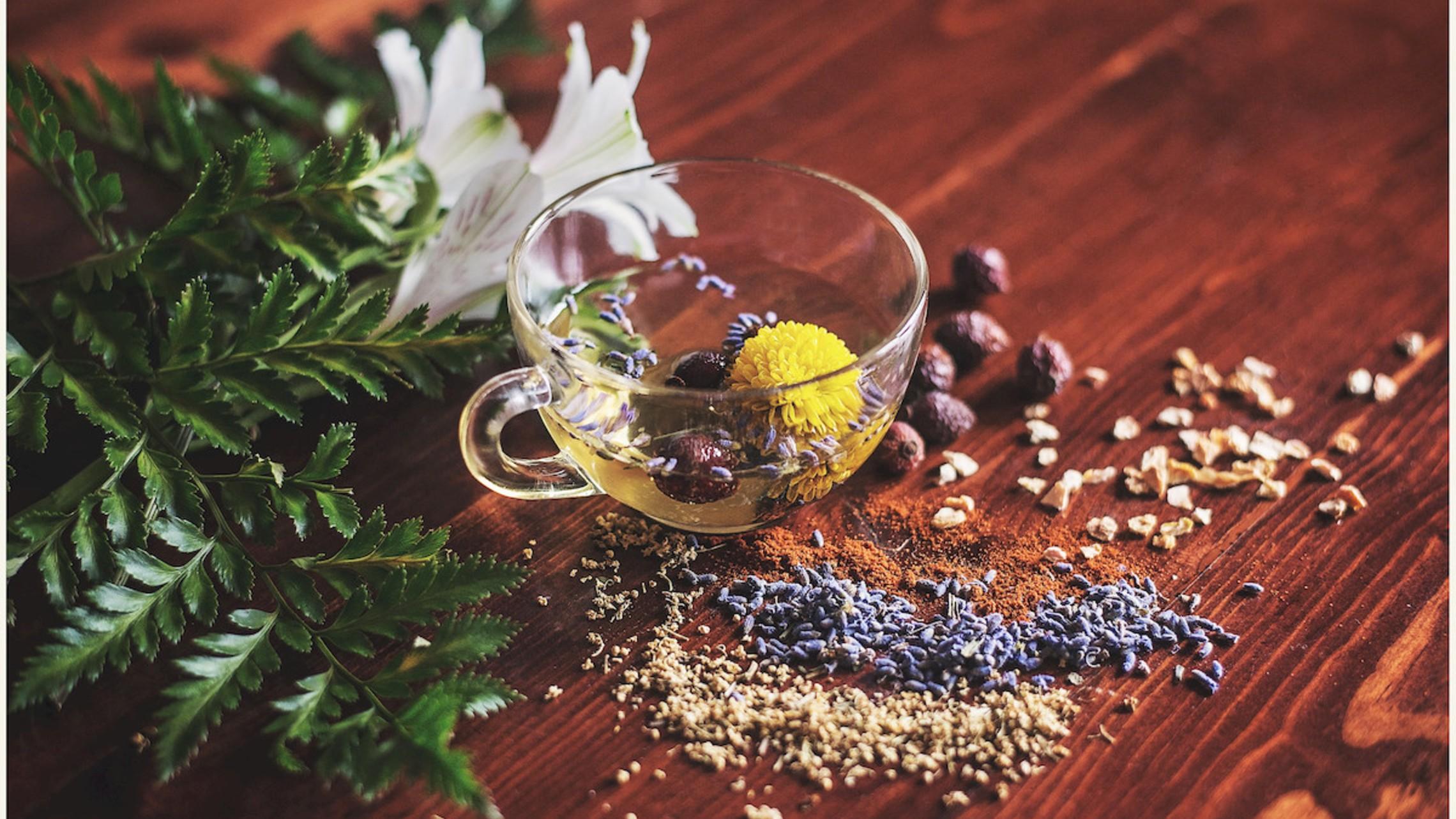 Squooshed Herbal Teacup 1
