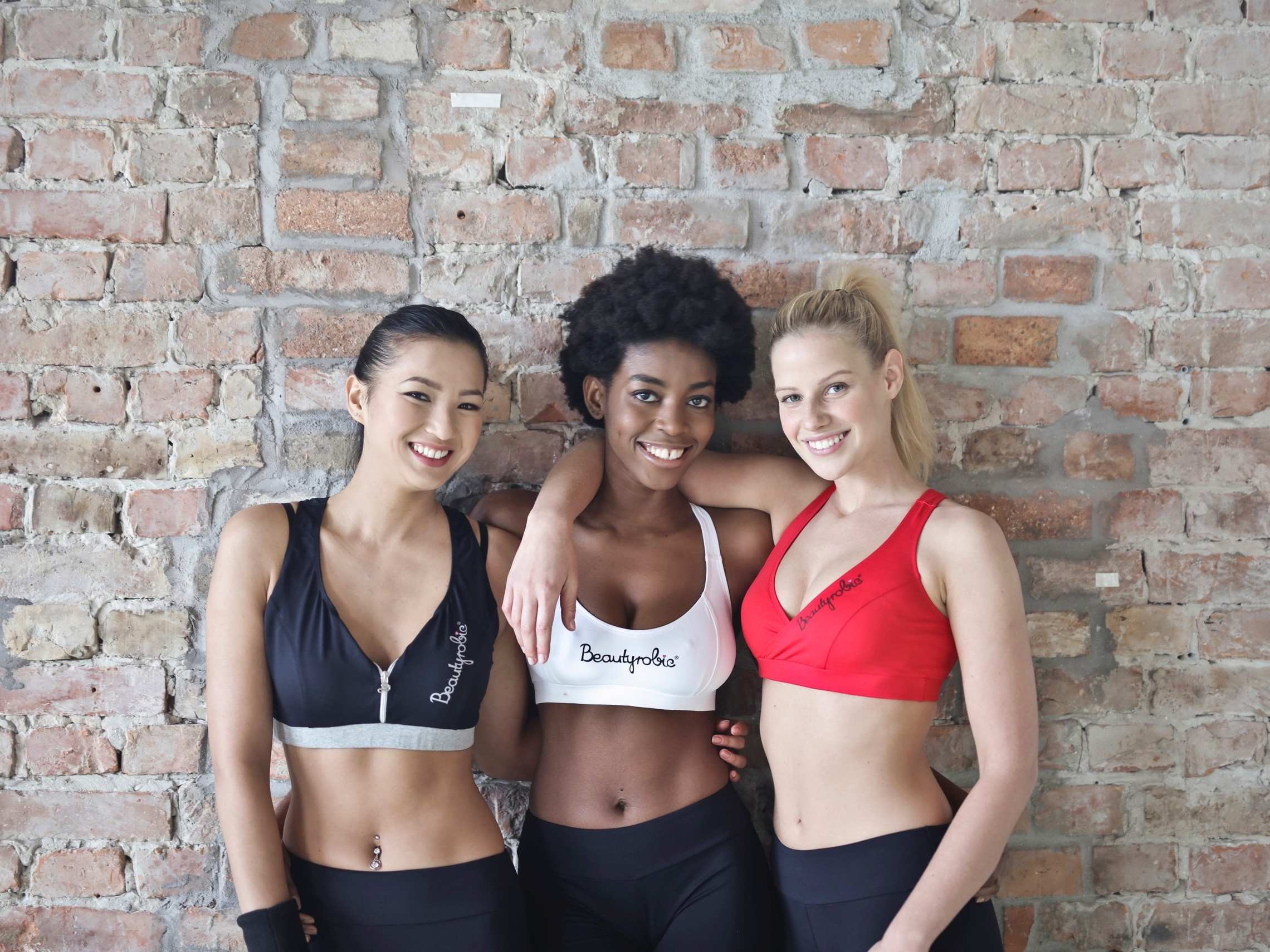 The women in active wear